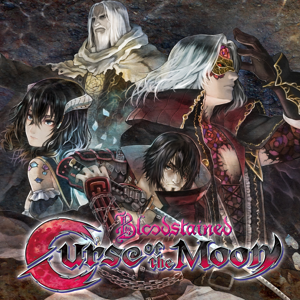 Bloodstained_curse_of_the_moon_titre
